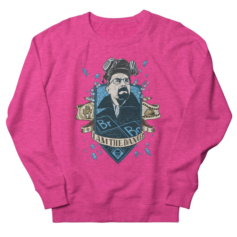 I Am the Danger! – Colored Men's French Terry Sweatshirt by Stefan Grosse Halbuer