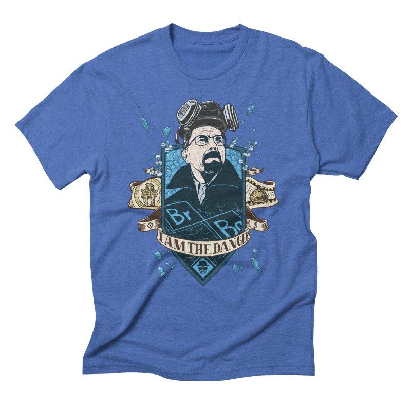 I Am the Danger! – Colored Men's Triblend T-shirt by Stefan Grosse Halbuer