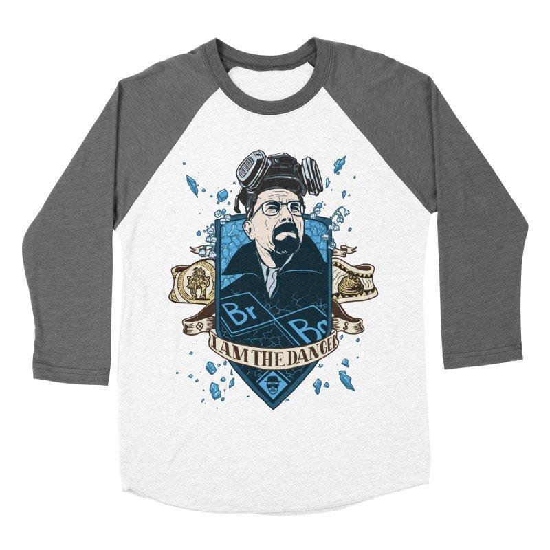 I Am the Danger! – Colored Women's Baseball Triblend T-Shirt by Stefan Grosse Halbuer