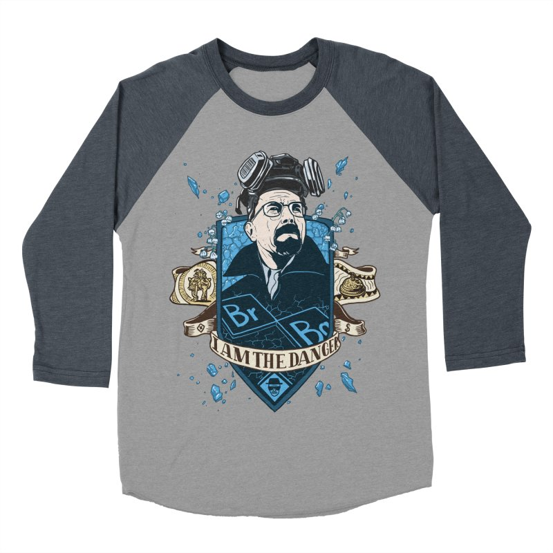 I Am the Danger! – Colored Men's Baseball Triblend T-Shirt by Stefan Grosse Halbuer