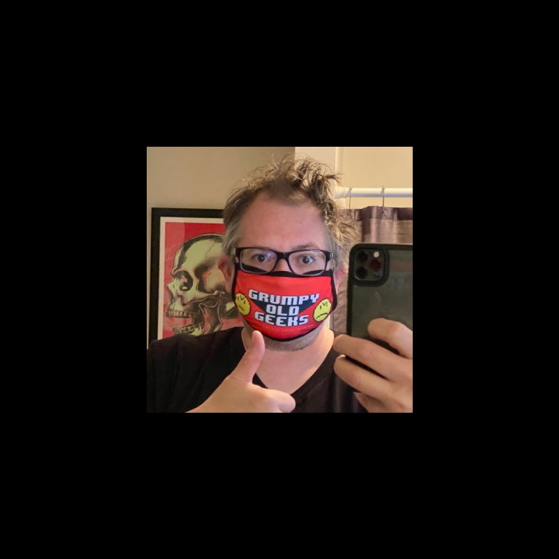 GOG Face Mask #1 Accessories Face Mask by Grumpy Old Geeks