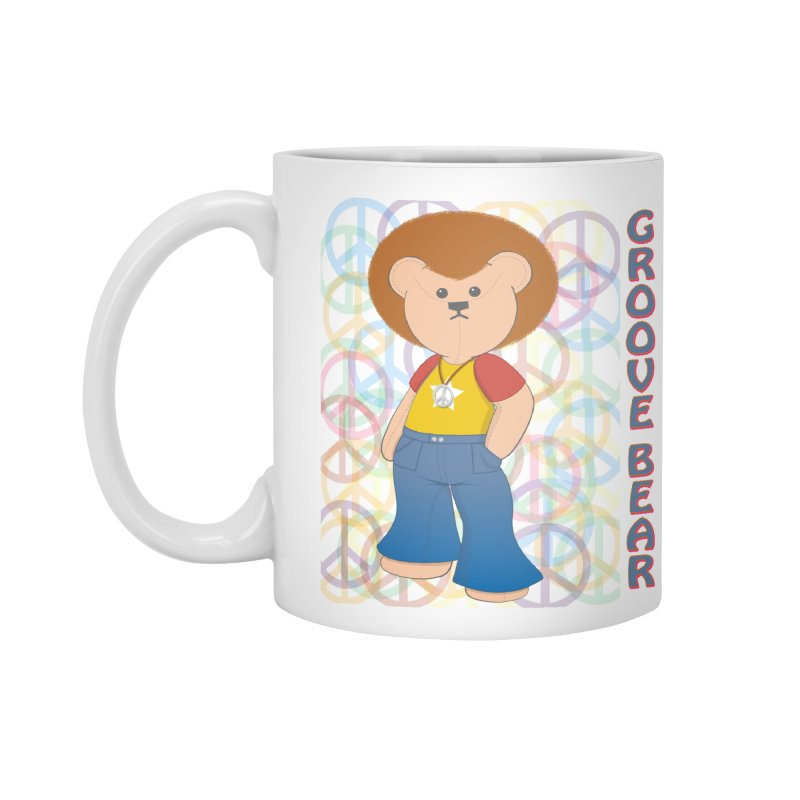 Groove Bear Accessories Mug by grumpyteds's Artist Shop