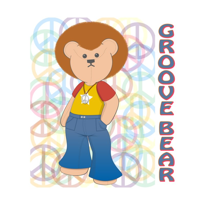 Groove Bear Kids Toddler Zip-Up Hoody by grumpyteds's Artist Shop