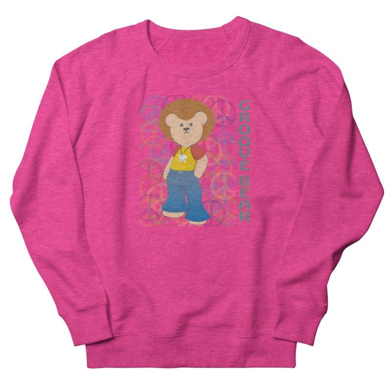 Groove Bear Women's French Terry Sweatshirt by grumpyteds's Artist Shop