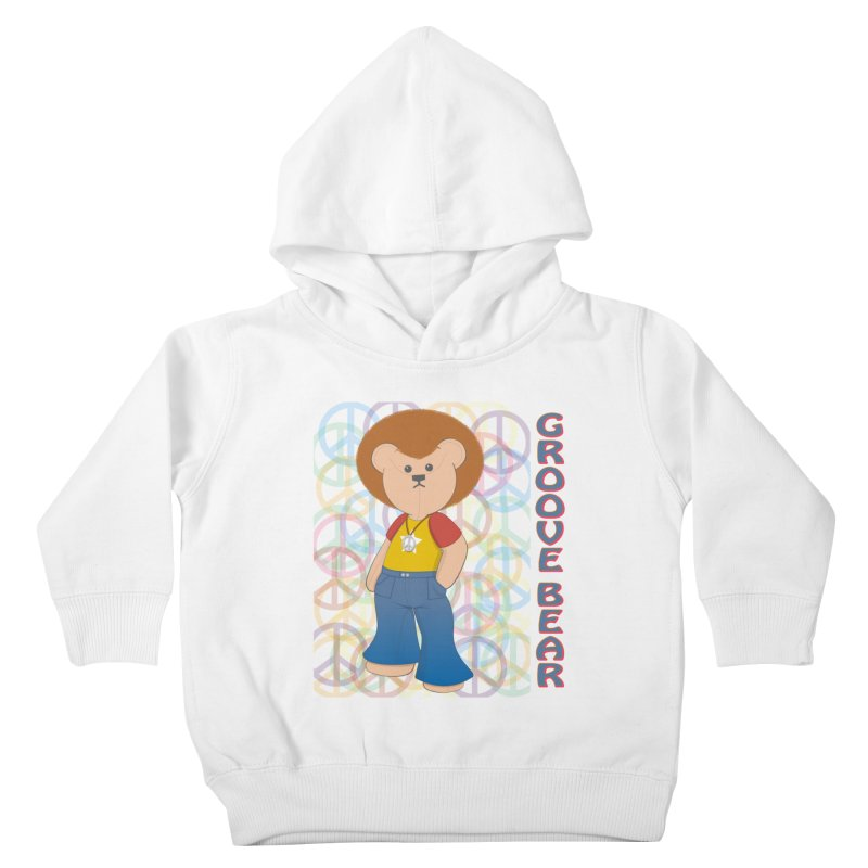 Groove Bear Kids Toddler Pullover Hoody by grumpyteds's Artist Shop
