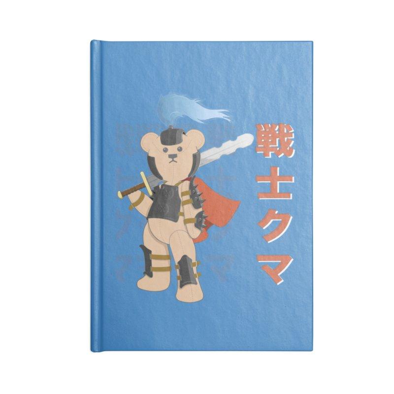 Warrior Bear Accessories Blank Journal Notebook by grumpyteds's Artist Shop