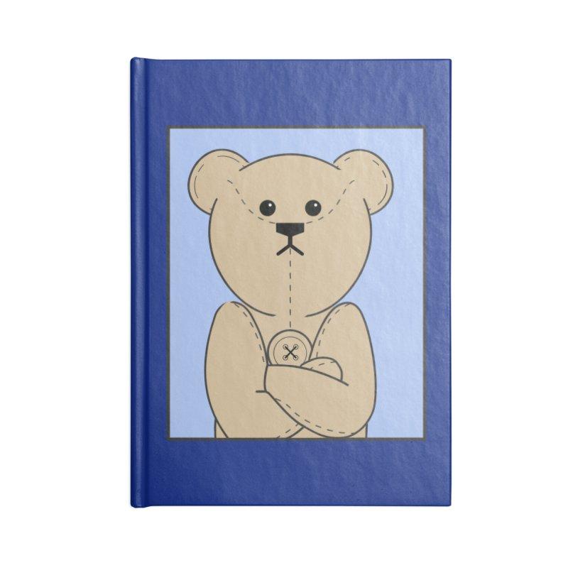 Very Grumpy Ted Accessories Blank Journal Notebook by grumpyteds's Artist Shop