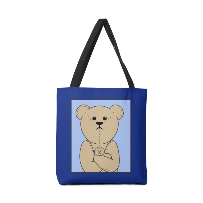 Very Grumpy Ted Accessories Tote Bag Bag by grumpyteds's Artist Shop