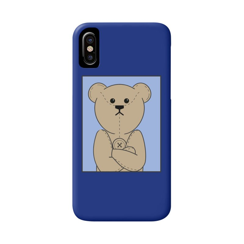 Very Grumpy Ted Accessories Phone Case by grumpyteds's Artist Shop