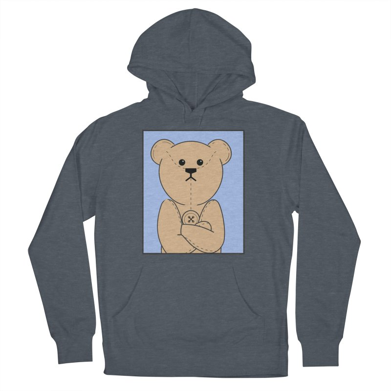 Very Grumpy Ted Women's French Terry Pullover Hoody by grumpyteds's Artist Shop
