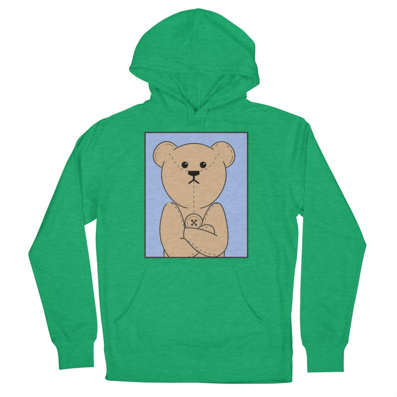 Very Grumpy Ted Men's French Terry Pullover Hoody by grumpyteds's Artist Shop