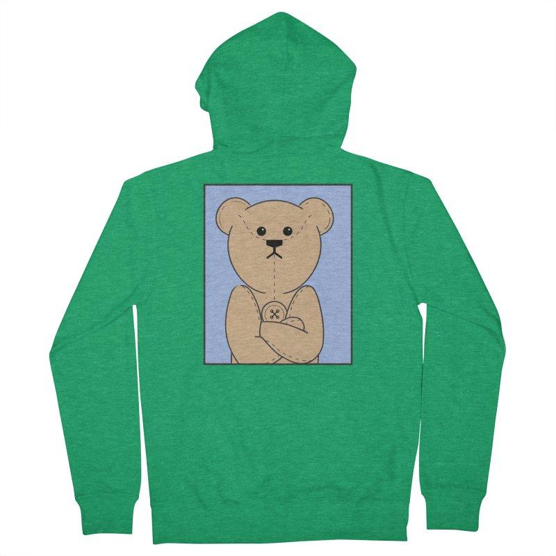 Very Grumpy Ted Men's Zip-Up Hoody by grumpyteds's Artist Shop