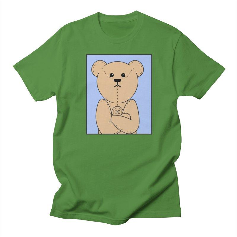 Very Grumpy Ted Men's Regular T-Shirt by grumpyteds's Artist Shop