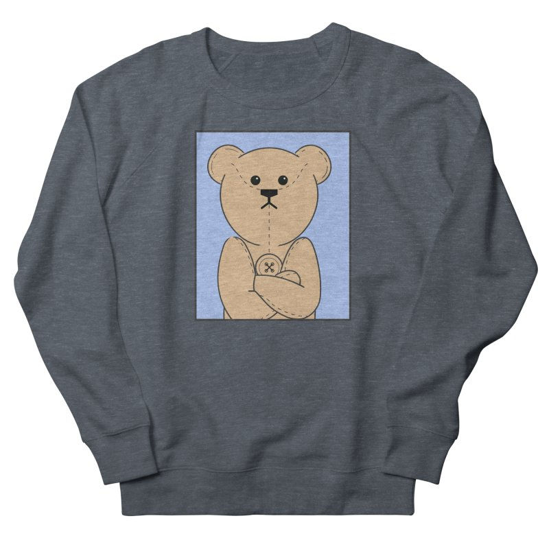 Very Grumpy Ted Women's French Terry Sweatshirt by grumpyteds's Artist Shop