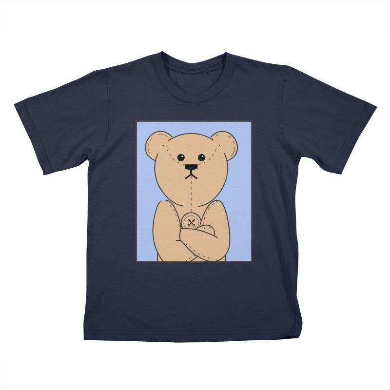 Very Grumpy Ted Kids T-Shirt by grumpyteds's Artist Shop