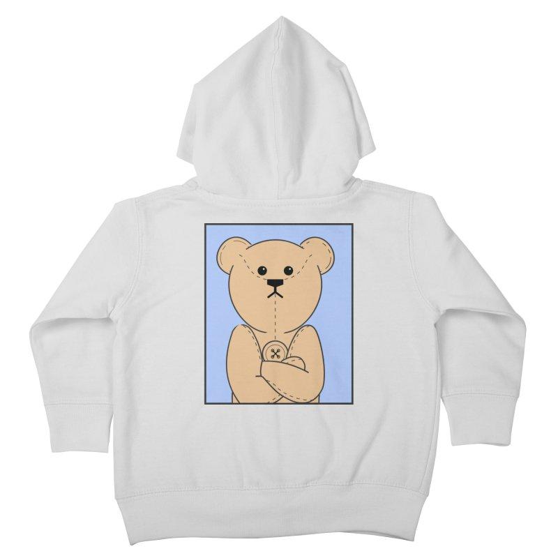 Very Grumpy Ted Kids Toddler Zip-Up Hoody by grumpyteds's Artist Shop