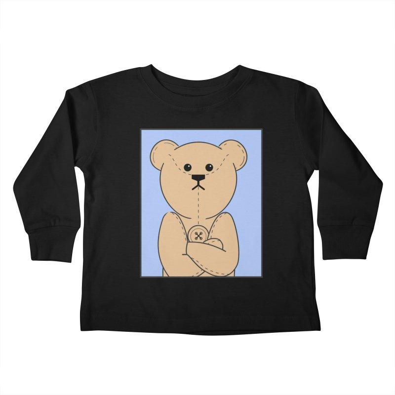 Very Grumpy Ted Kids Toddler Longsleeve T-Shirt by grumpyteds's Artist Shop