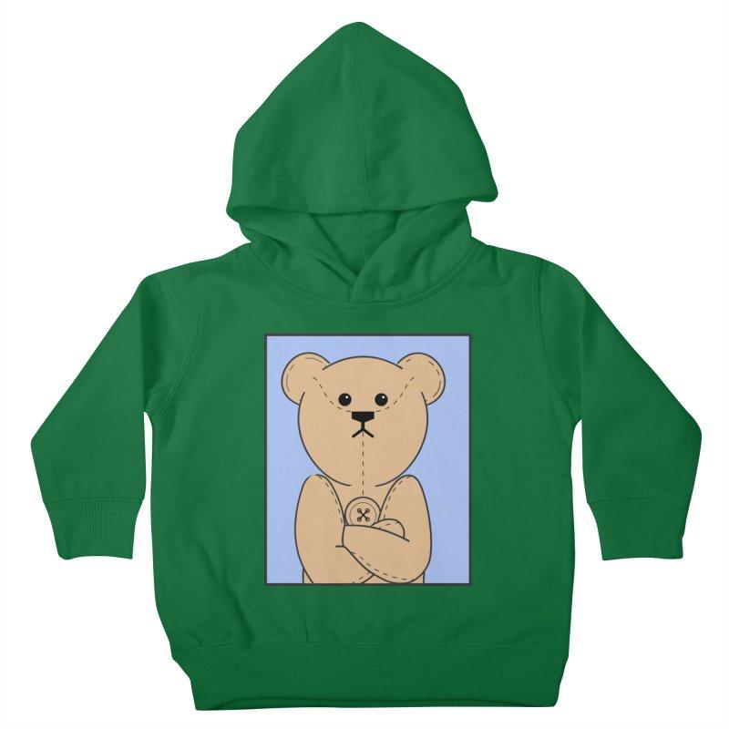 Very Grumpy Ted Kids Toddler Pullover Hoody by grumpyteds's Artist Shop