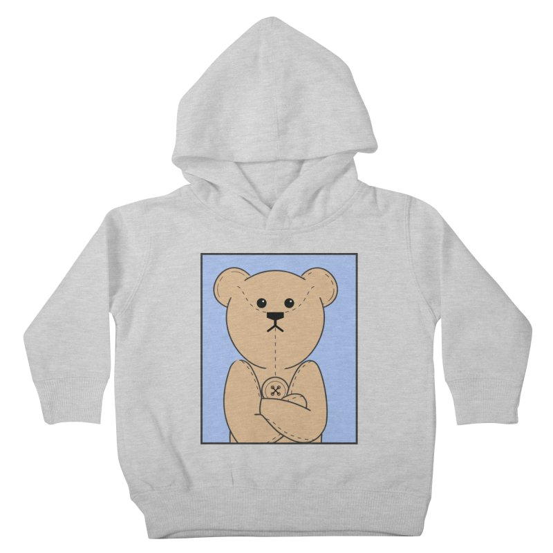 Very Grumpy Ted Kids Toddler Pullover Hoody by grumpyteds's Artist Shop