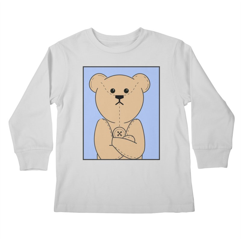 Very Grumpy Ted Kids Longsleeve T-Shirt by grumpyteds's Artist Shop