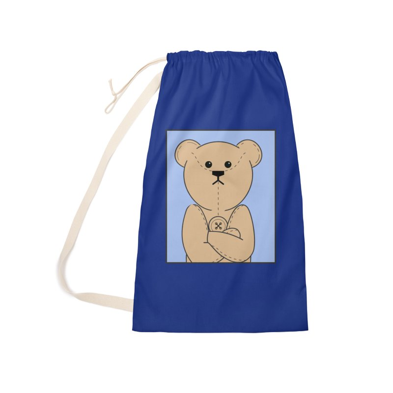 Very Grumpy Ted Accessories Bag by grumpyteds's Artist Shop