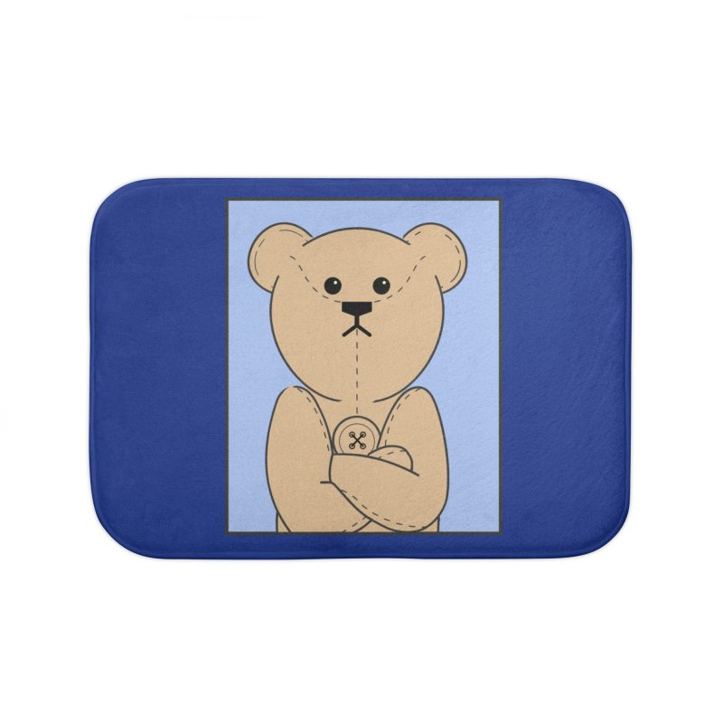Very Grumpy Ted Home Bath Mat by grumpyteds's Artist Shop