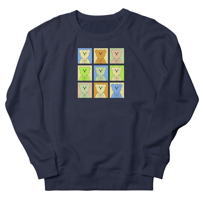 Pastel Bear Block Women's French Terry Sweatshirt by grumpyteds's Artist Shop