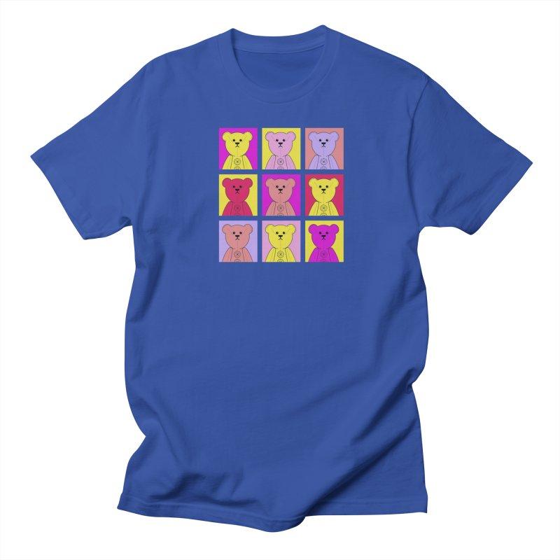 Bright Bear Block Women's Regular Unisex T-Shirt by grumpyteds's Artist Shop