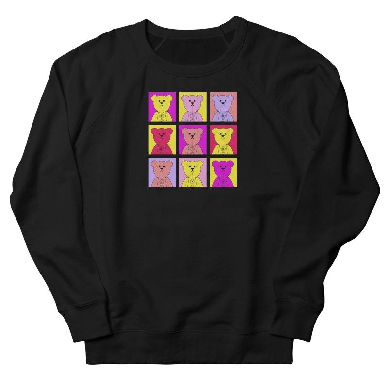 Bright Bear Block Men's French Terry Sweatshirt by grumpyteds's Artist Shop