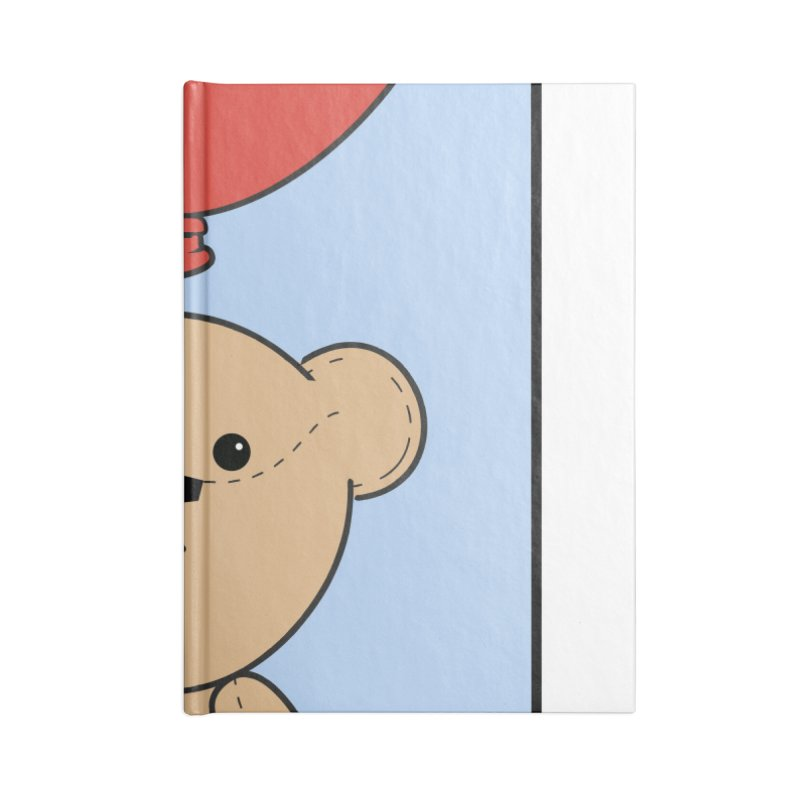 Red Balloon Accessories Blank Journal Notebook by grumpyteds's Artist Shop