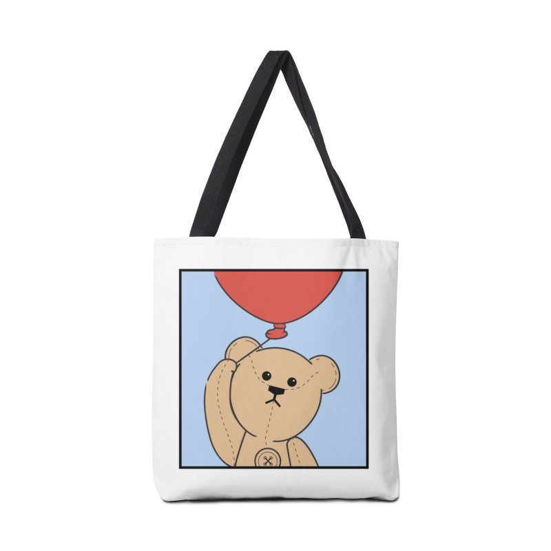 Red Balloon Accessories Tote Bag Bag by grumpyteds's Artist Shop