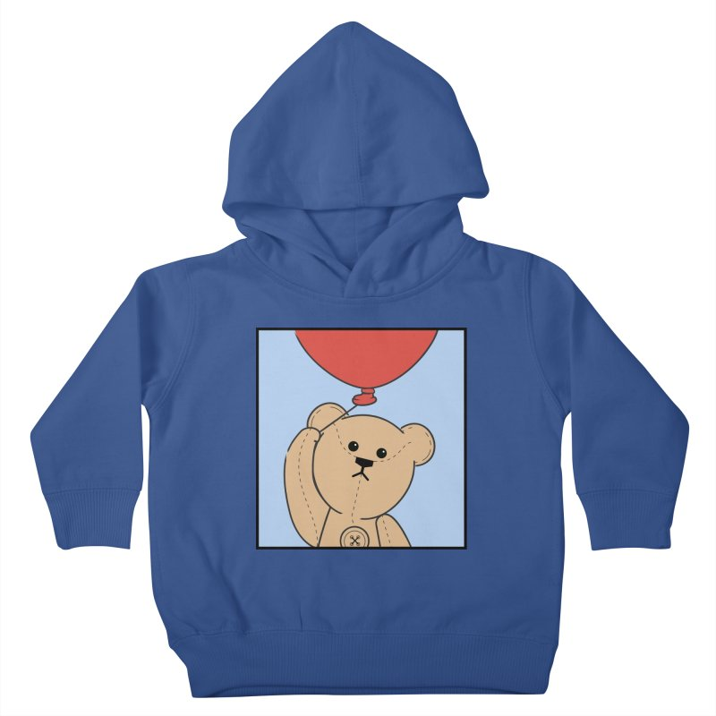 Red Balloon Kids Toddler Pullover Hoody by grumpyteds's Artist Shop