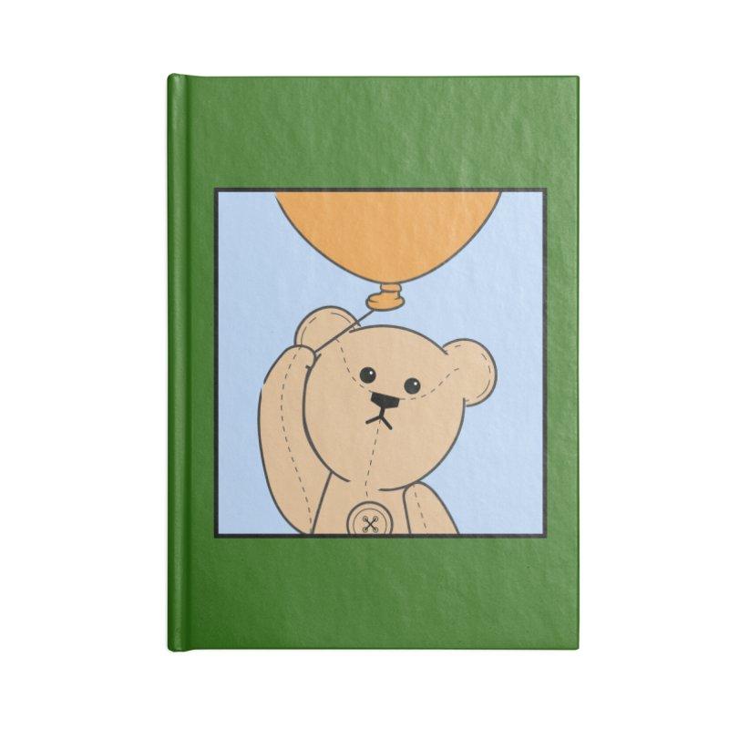 Orange Balloon Accessories Blank Journal Notebook by grumpyteds's Artist Shop