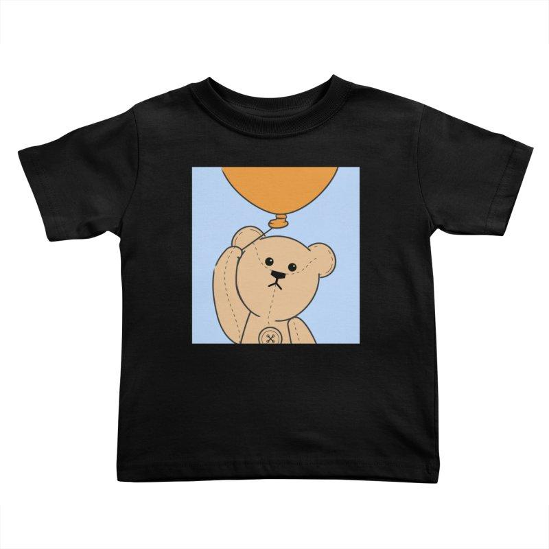 Orange Balloon Kids Toddler T-Shirt by grumpyteds's Artist Shop
