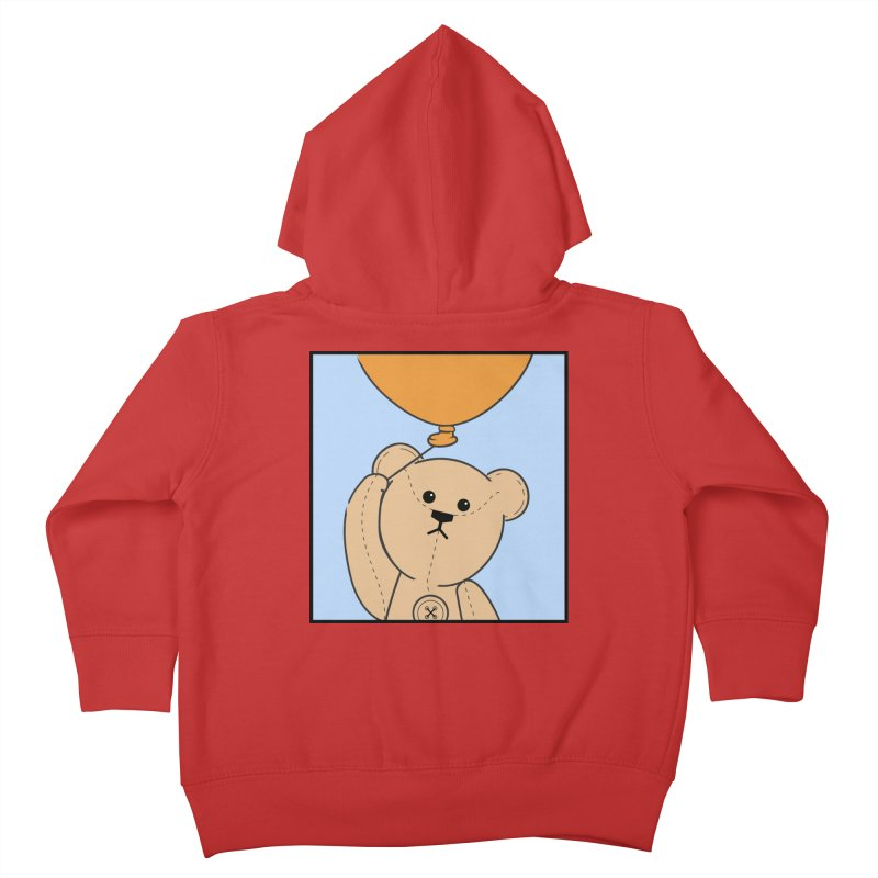 Orange Balloon Kids Toddler Zip-Up Hoody by grumpyteds's Artist Shop