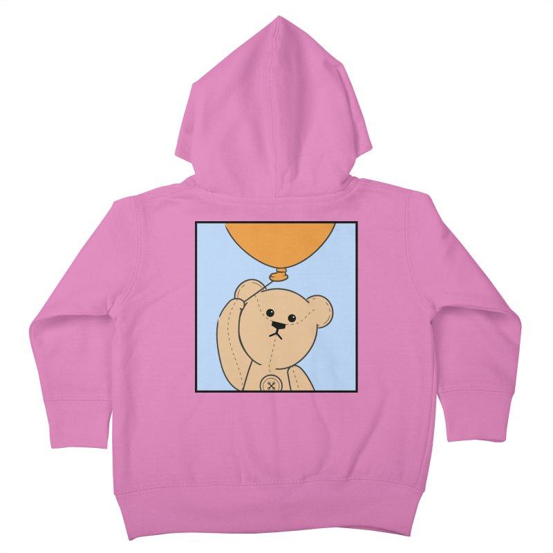 Orange Balloon Kids Toddler Zip-Up Hoody by grumpyteds's Artist Shop