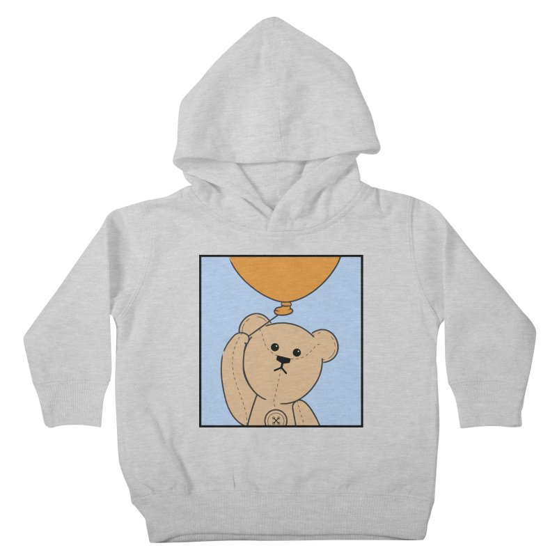 Orange Balloon Kids Toddler Pullover Hoody by grumpyteds's Artist Shop