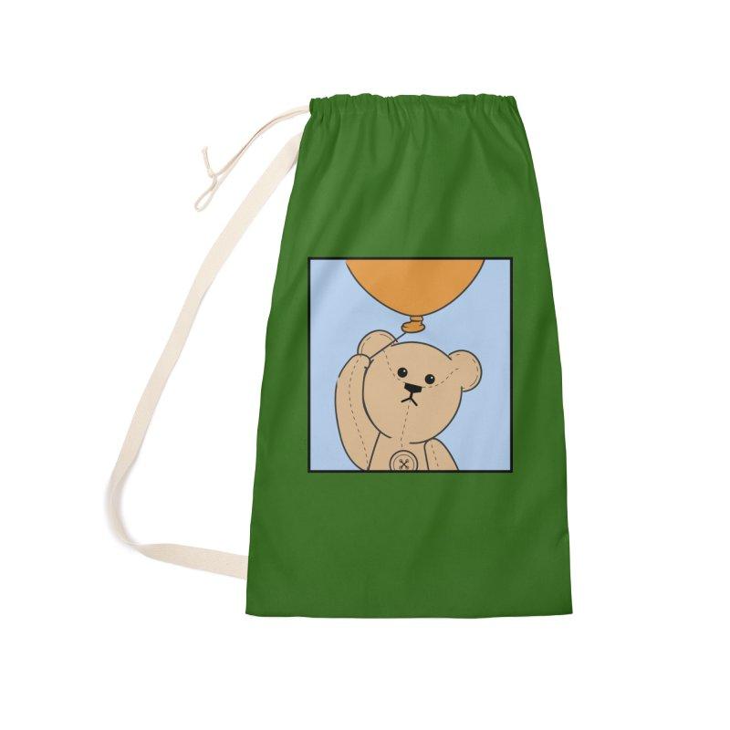 Orange Balloon Accessories Bag by grumpyteds's Artist Shop