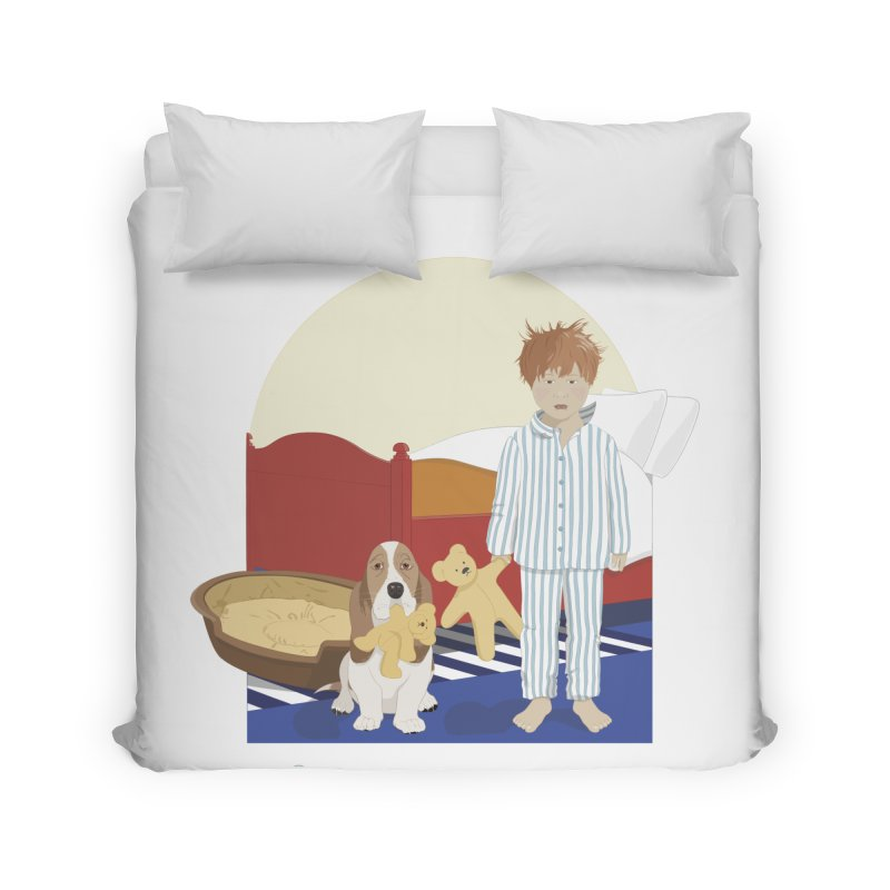 Time For Bed Home Duvet by grumpyteds's Artist Shop