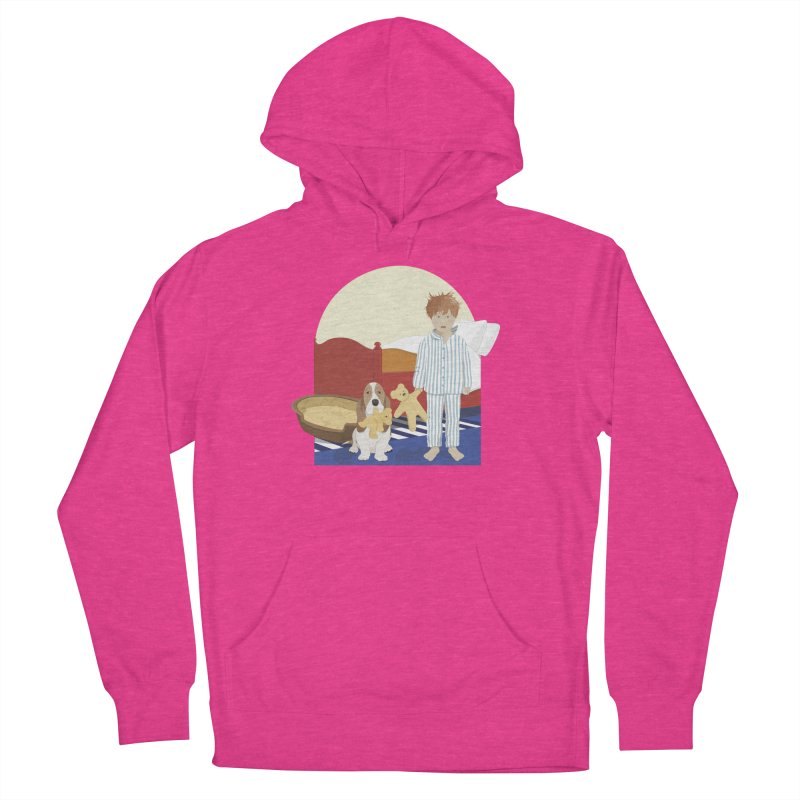 Time For Bed Women's French Terry Pullover Hoody by grumpyteds's Artist Shop