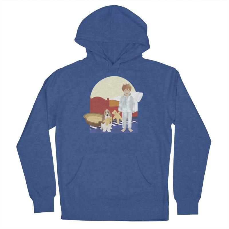 Time For Bed Men's French Terry Pullover Hoody by grumpyteds's Artist Shop