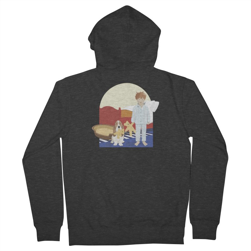 Time For Bed Women's French Terry Zip-Up Hoody by grumpyteds's Artist Shop