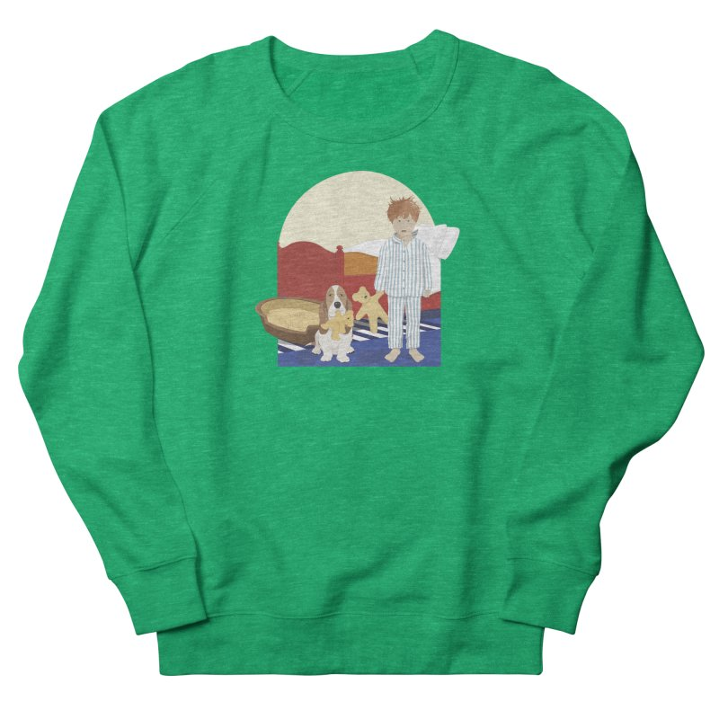Time For Bed Women's French Terry Sweatshirt by grumpyteds's Artist Shop