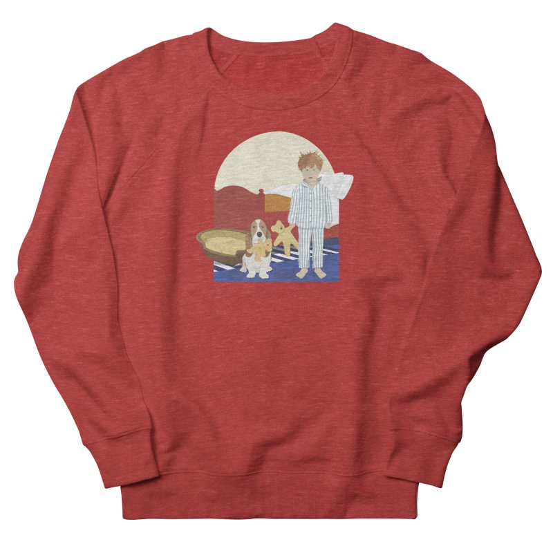 Time For Bed Men's French Terry Sweatshirt by grumpyteds's Artist Shop