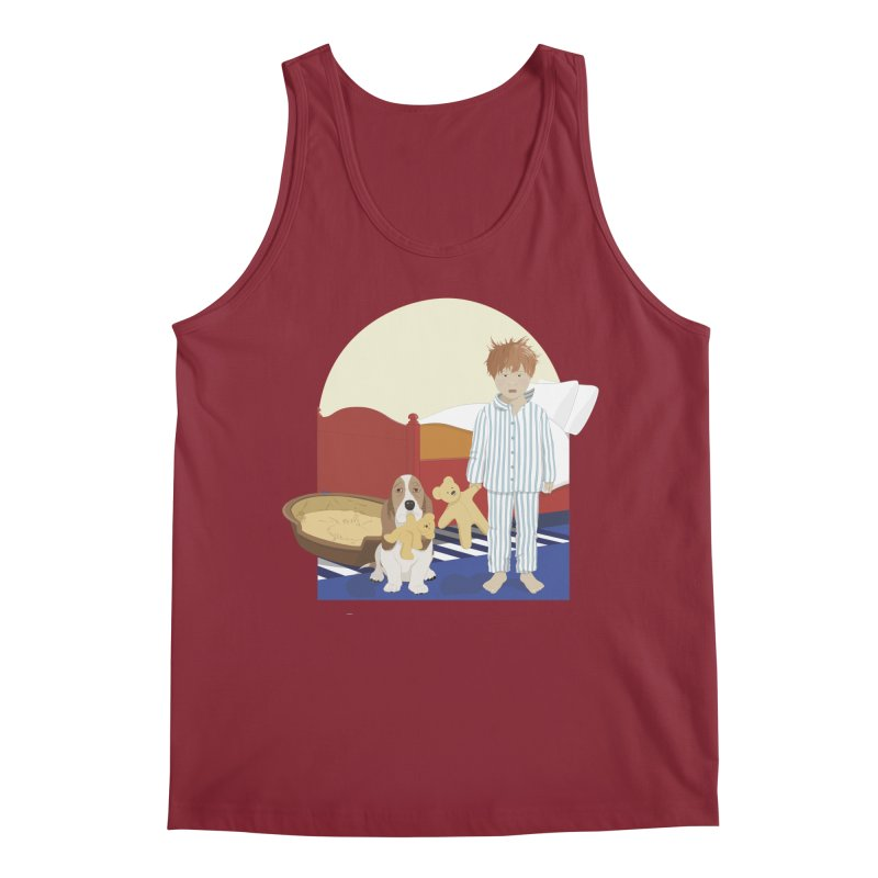 Time For Bed Men's Tank by grumpyteds's Artist Shop