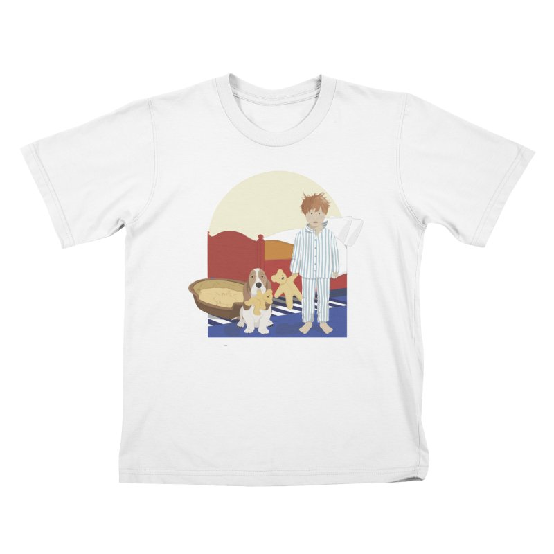 Time For Bed Kids T-Shirt by grumpyteds's Artist Shop