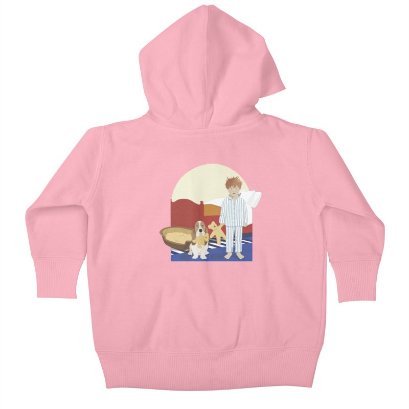 Time For Bed Kids Baby Zip-Up Hoody by grumpyteds's Artist Shop