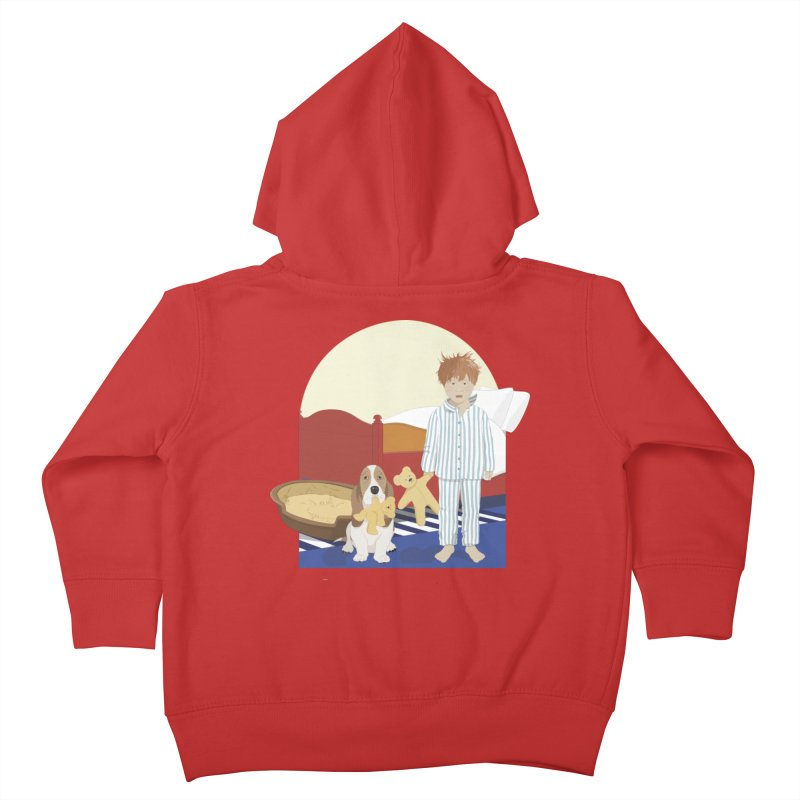 Time For Bed Kids Toddler Zip-Up Hoody by grumpyteds's Artist Shop
