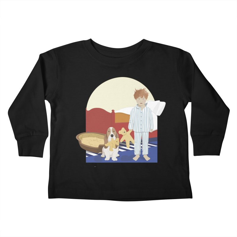 Time For Bed Kids Toddler Longsleeve T-Shirt by grumpyteds's Artist Shop
