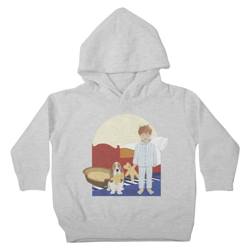 Time For Bed Kids Toddler Pullover Hoody by grumpyteds's Artist Shop